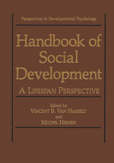 Handbook of Social Development