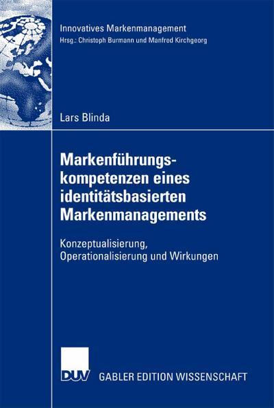 Markenführungskompetenzen eines identitätsbasierten Markenmanagements