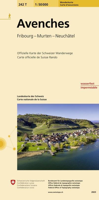 Swisstopo 1 : 50 000 Avenches