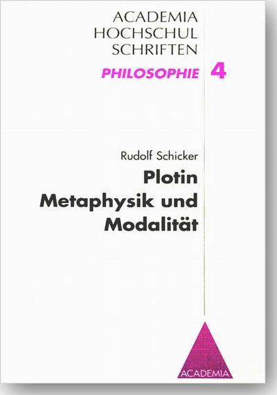 Plotin - Metaphysik und Modalität