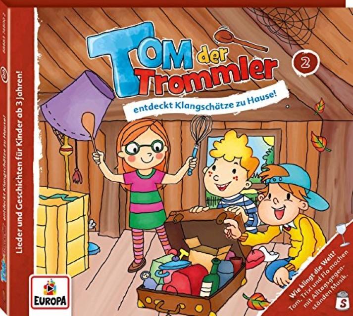 Tom der Trommler 02. Tom der Trommler entdeckt Klangschätze zu Hause