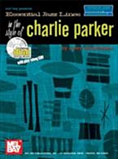 Essential Jazz Lines in the Style of Charlie Parker, Violin