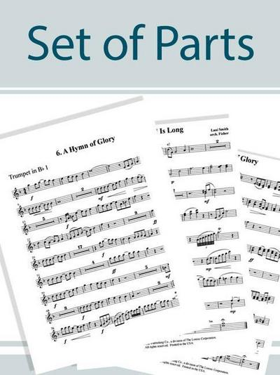 If God Be for Us - Brass and Timpani Set of Parts