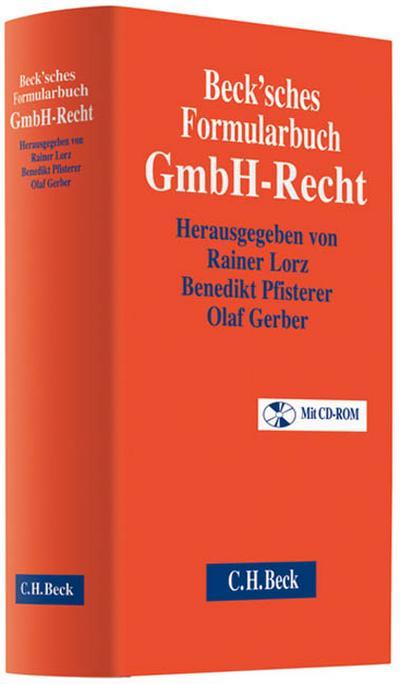 Beck'sches Formularhandbuch GmbH-Recht