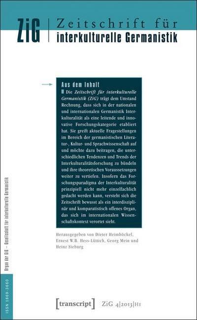 Zeitschrift für interkulturelle Germanistik (ZiG)