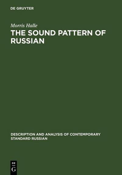 The Sound Pattern of Russian