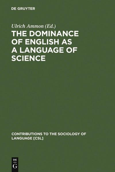The Dominance of English as a Language of Science
