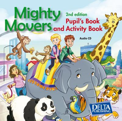 Mighty Movers. Second Edition. Audio CDs (2)