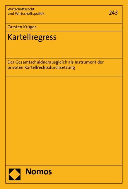 Kartellregress Carsten Krüger
