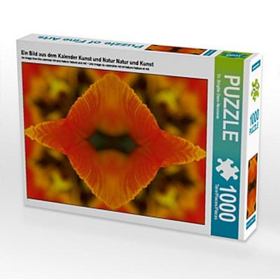 Fotocollage Tulpenblätter, 1000 Teile