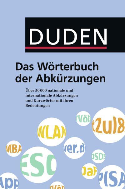 Duden - Das Wörterbuch der Abkürzungen