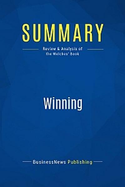 Summary: Winning