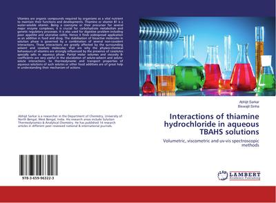 Interactions of thiamine hydrochloride in aqueous TBAHS solutions