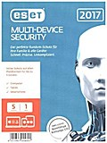 ESET Multi-Device Security 2017 Edition 5 User (FFP), 1 CD-ROM