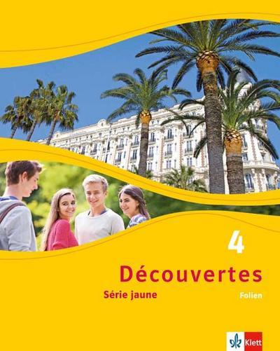 Découvertes Série jaune 4. Folien (Abbildungen aus dem Schülerbuch und Transferfolien)
