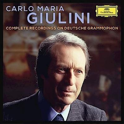 Carlo Maria Giulini - Complete Recordings on Deutsche Grammophon, 42 Audio-CDs (Limited Edition)