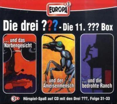 Die drei ??? Box 11. Folgen 31-33 (drei Fragezeichen) 3 CDs