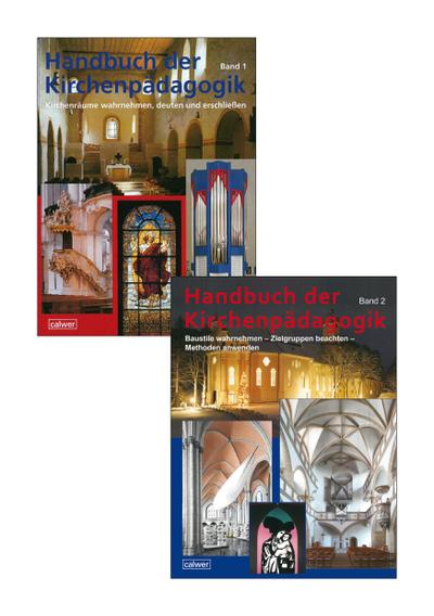Kombi-Paket: Handbuch der Kirchenpädagogik