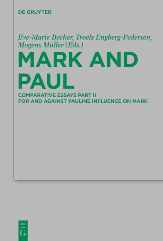 Mark and Paul Eve-Marie Becker