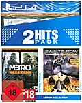 Metro Redux + Saints Row 4 Re-Elected, 1 PS4-Blu-ray Disc