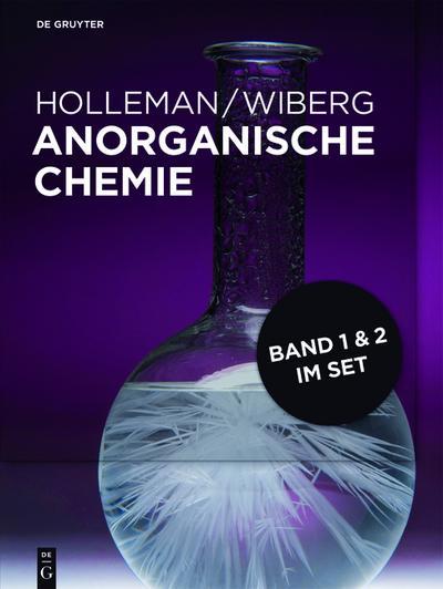 Anorganische Chemie 1 und 2 [Set Band 1+2]
