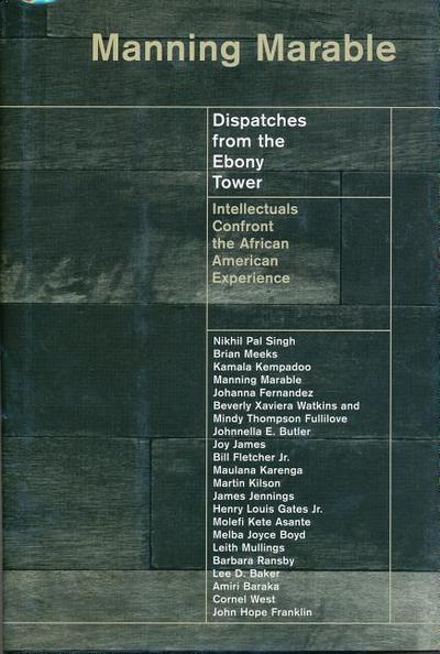 Dispatches from the Ebony Tower: Intellectuals Confront the African American Experience
