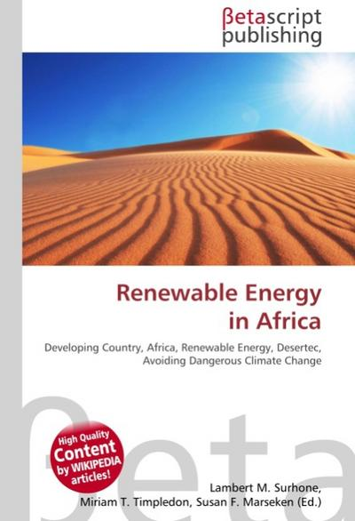 Renewable Energy in Africa