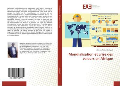 Mondialisation et crise des valeurs en Afrique