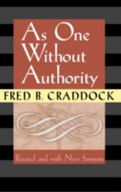 As One Without Authority