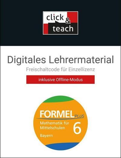 Formel PLUS 6 click & teach Box Bayern