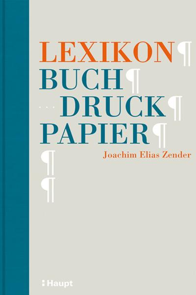 Lexikon Buch, Druck, Papier