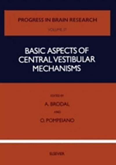 Basic Aspects of Central Vestibular Mechanisms