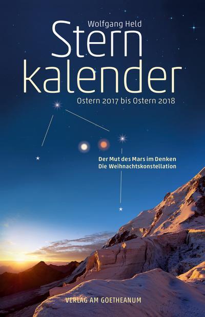 Sternkalender Ostern 2017 bis Ostern 2018