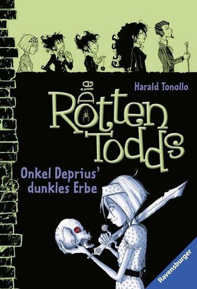 Die Rottentodds 1: Onkel Deprius' dunkles Erbe; Ravensburger Taschenbücher; Ill. v. Metzen, Isabelle/Miller, Carla; Deutsch; schw.-w. Ill.