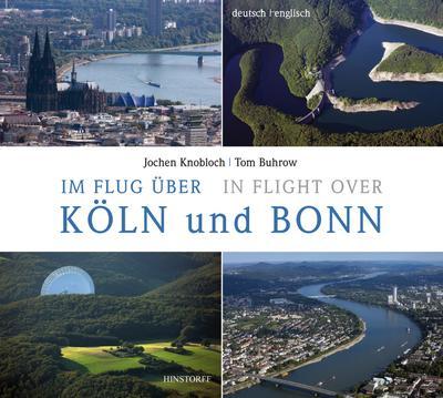Im Flug über Köln und Bonn / In Flight over
