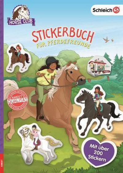 SCHLEICH® Horse Club - Stickerbuch für Pferdefreunde