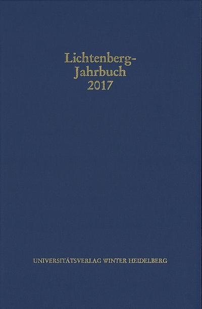 Lichtenberg-Jahrbuch 2017