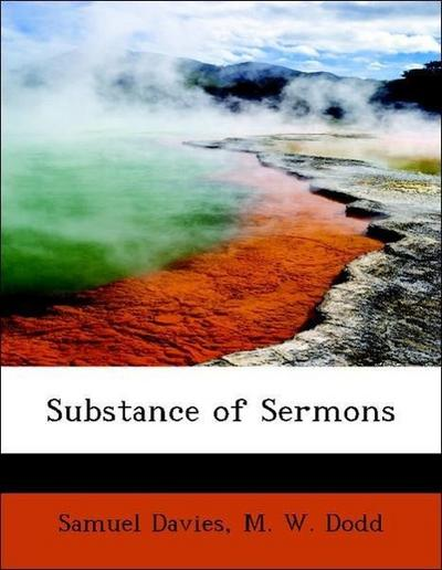 Substance of Sermons