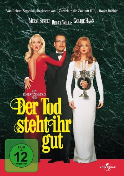 Der Tod steht ihr gut, DVD, mehrsprachige Version