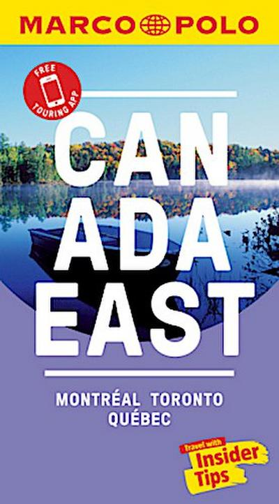 Canada East Marco Polo Pocket Travel Guide - with pull out map