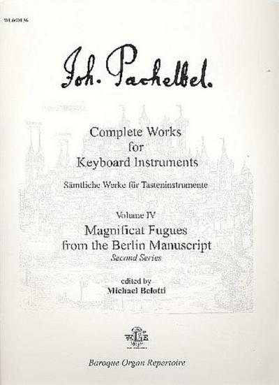 Magnificat Fugues from the Berlin Manuscript :for keyboard instruments