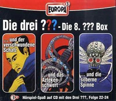 Die drei ??? Box 08. Folgen 22-24 (drei Fragezeichen) 3 CDs