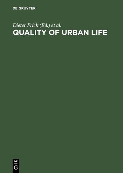 Quality of Urban Life