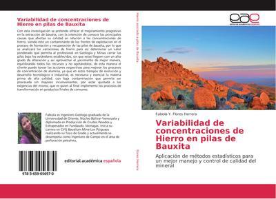 Variabilidad de concentraciones de Hierro en pilas de Bauxita