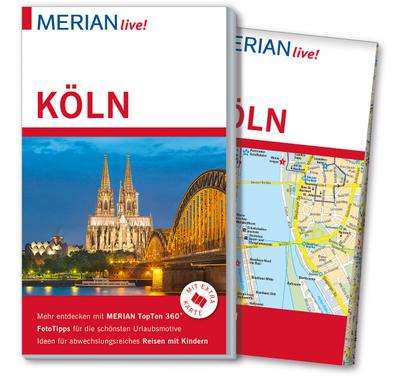 MERIAN live! Reiseführer Köln: Mit Extra-Karte zum Herausnehmen