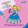 Malen nach Zahlen junior: Prinzessinnen; Ill. v. Merle, Katrin; Deutsch; durchg. farb. Ill.