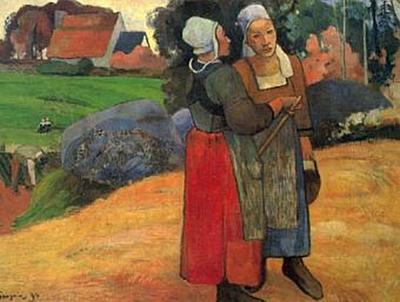 Paul Gauguin - Bretonische Bäuerinnen - 200 Teile (Puzzle)