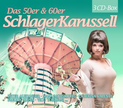 Das 50er & 60er Jahre Schlager Karussell, 3 Audio-CDs