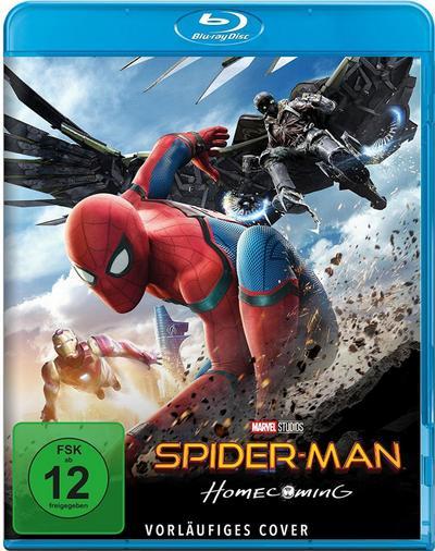 Spider-Man Homecoming, 1 Blu-ray