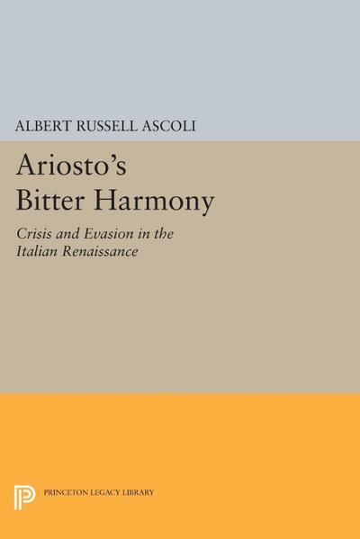Ariosto's Bitter Harmony